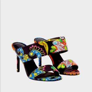 Versace Gioielleria Jetés Print Sandals